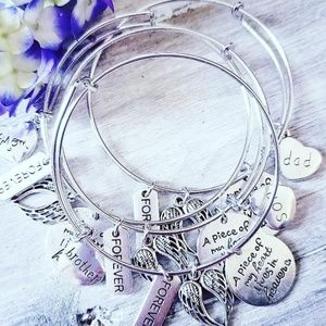 Jewelry - In Memory Charm Bracelets - Mom, Dad, Son, Brother